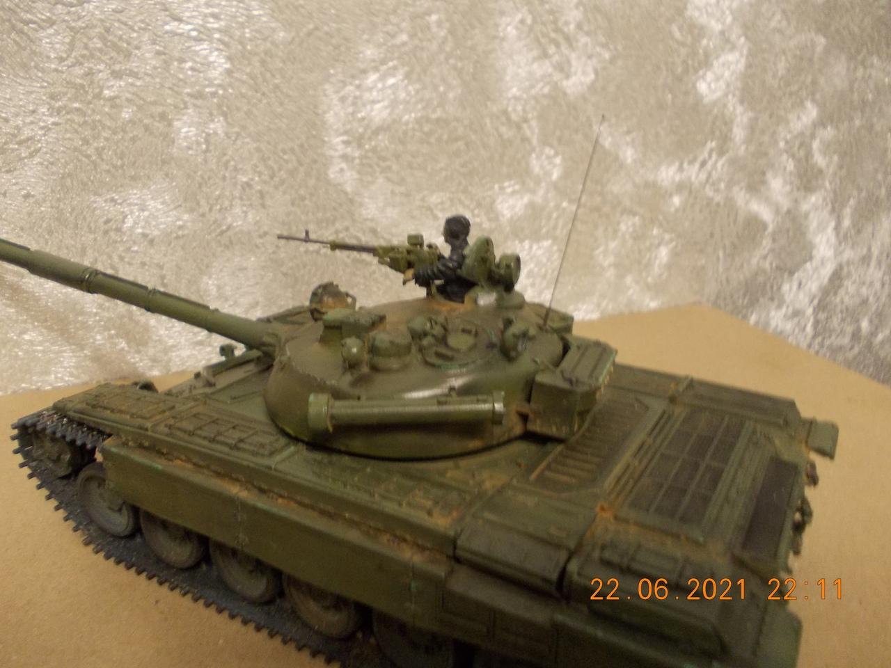 """Т-72А, 1/35, фирма """"Звезда"""", кат.№3552 7qlrBLse62k"""