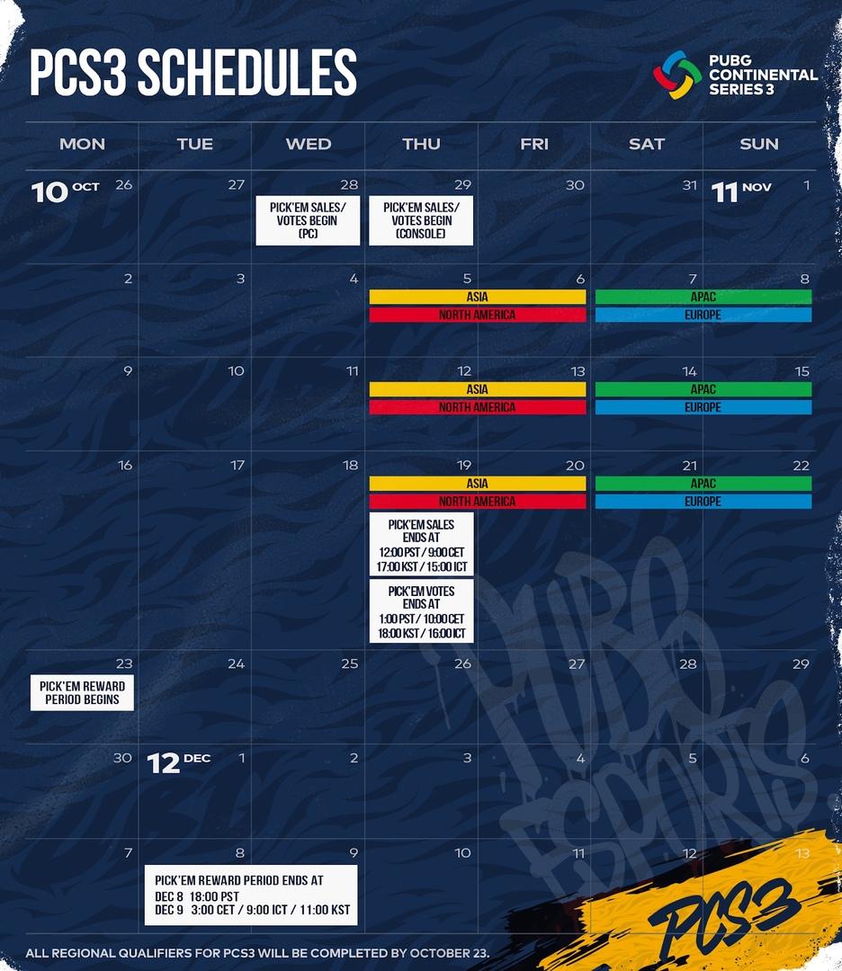 PCS3 — команды, расписание и другие подробности, изображение №3