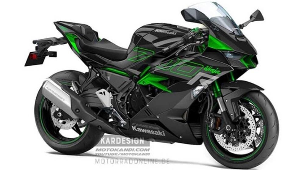 Kawasaki планируют новый Ninja 700R?!