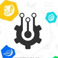 Логотип Онлайн хакатон по 3D инновациям