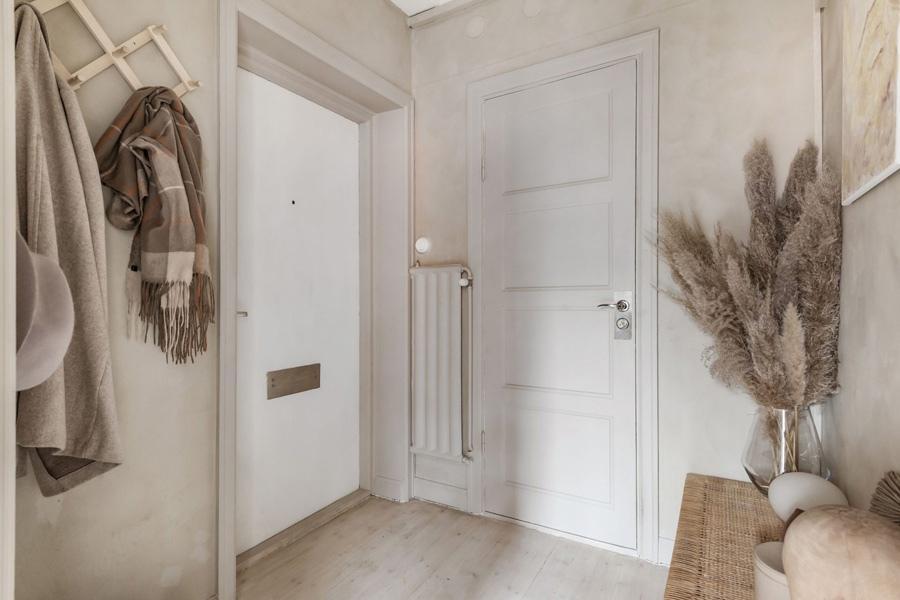 Интерьер скандинавской квартиры-студии 32 кв.
