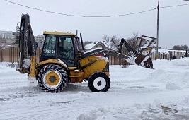 Липецкий район преодолел последствия снегопада