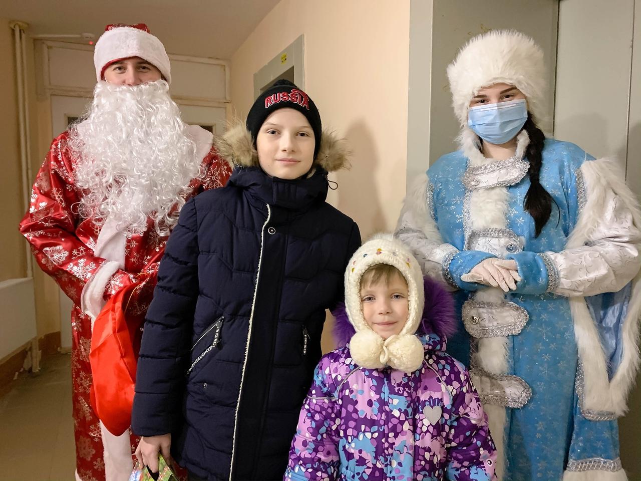 Волонтёры Ресурсного центра добровольчества Республики Мордовия присоединились к Всероссийской акции «Новый год в каждый дом»