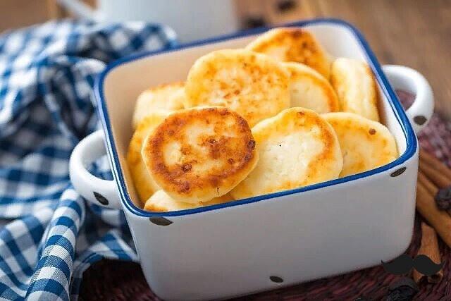 Обалденные диетические сырники в духовке