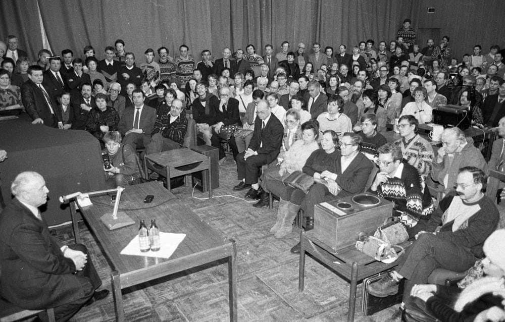 30 января 1996 года гостем ОИЯИ был Михаил Горбачев | Фото