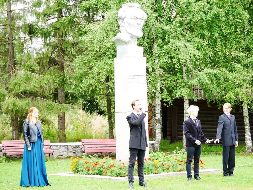 В Белозерске прошли торжества, посвященные 100-летию поэта Сергея Орлова ✍🏻