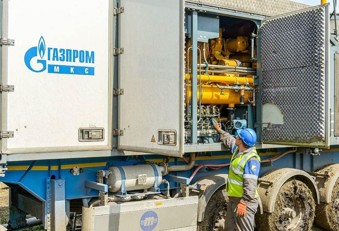 На магистральных газопроводах САЦ-1 и САЦ-2 неподалёку от Петровского ЛПУ МГ прошли очередные работы по сохранению природного газа