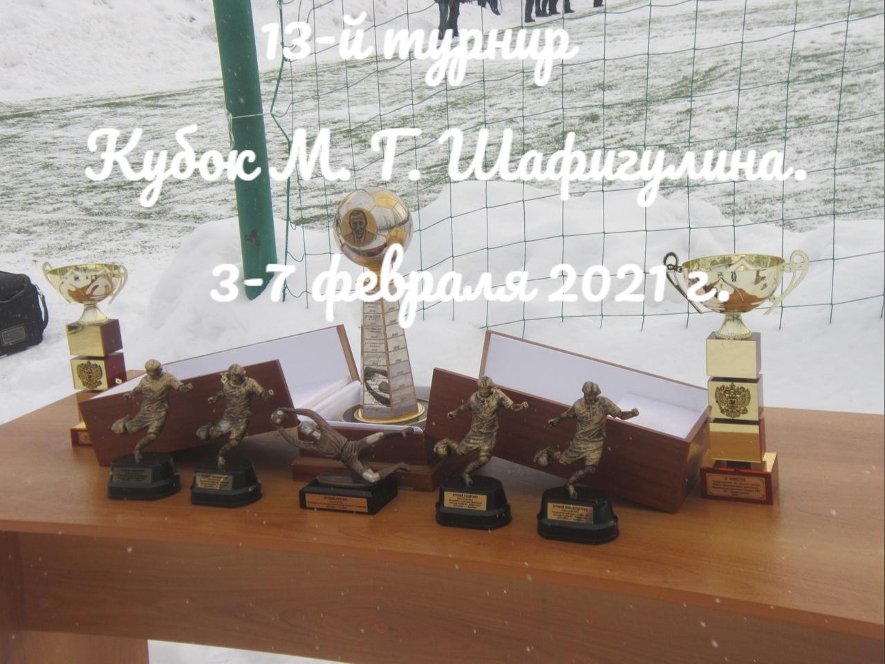 Кубок М.Г. Шафигулина - 2021
