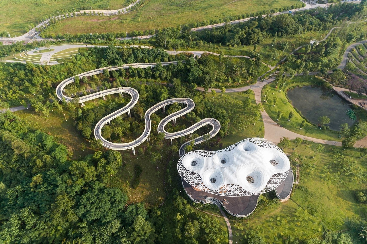 Lijia Intelligent Park / CQADI (Chongqing Architectural Design Institute of China)