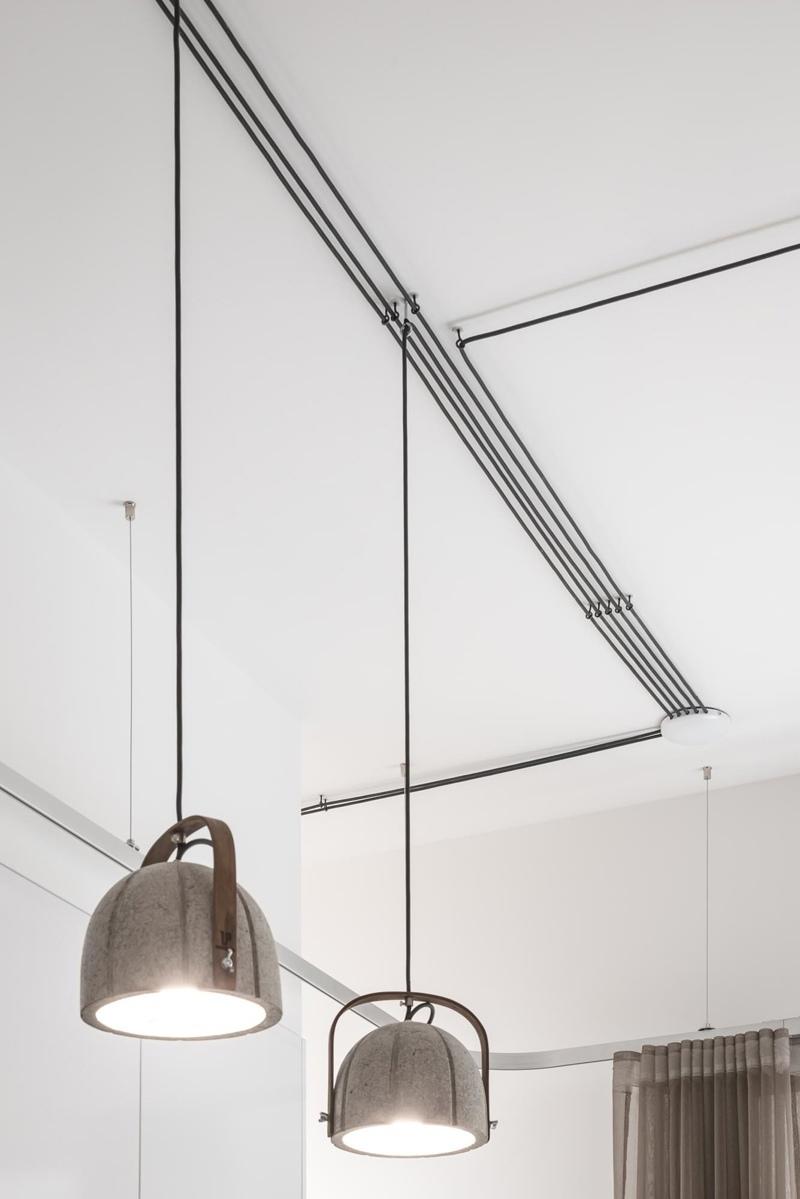 Минималистичный интерьер студии 30 м в Будапеште, Венгрия.