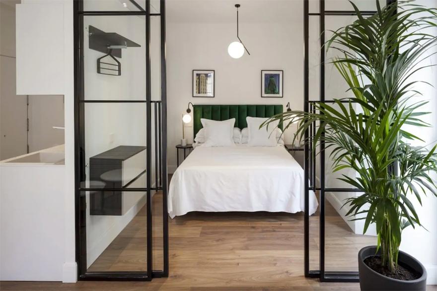 Интерьер гостевой квартиры в Мадриде.