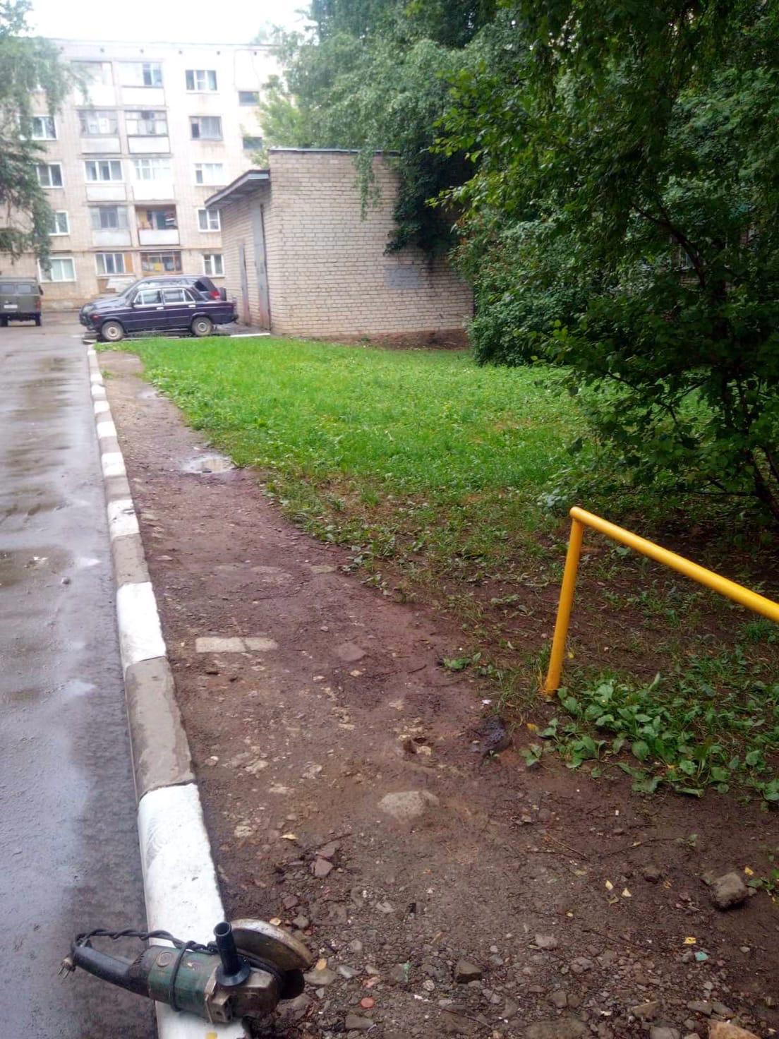 Улица Московская дом 173 . Демонтаж аварийного