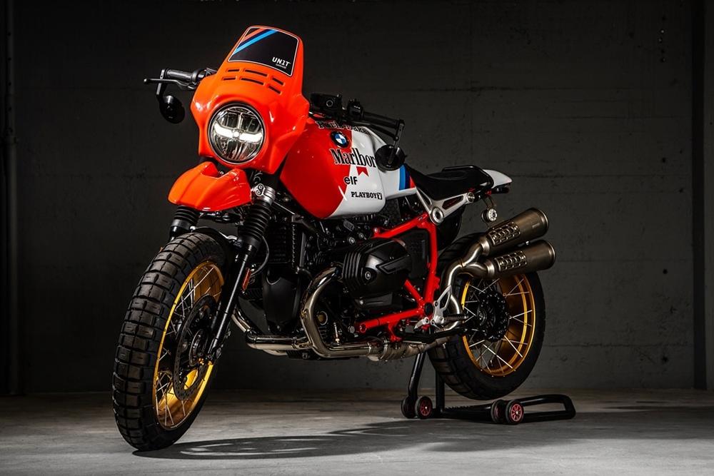VTR Customs: кастом BMW R nineT Paris-Dakar