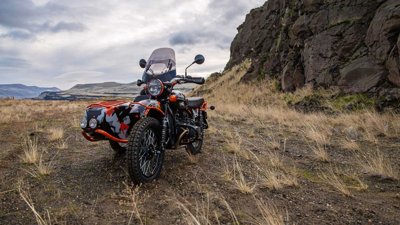 Мотоцикл Ural GearUp GEO Limited Edition
