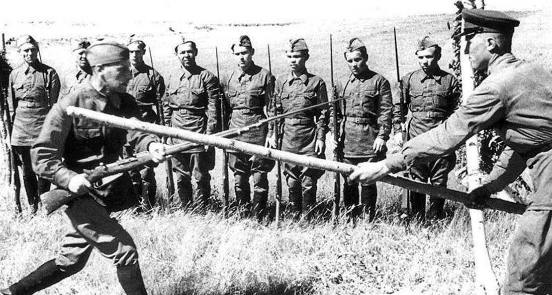 Штыковой бой в РККА