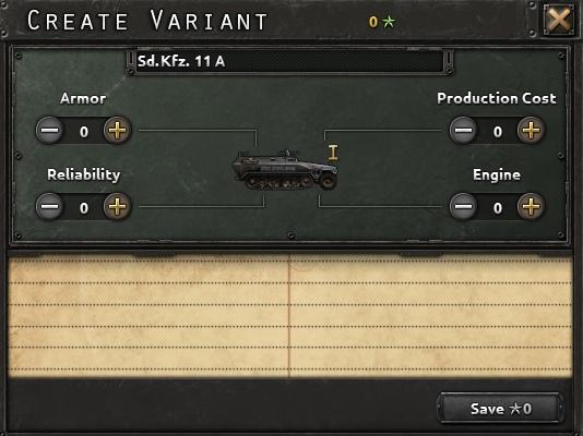 Дневник разработчиков Hearts of Iron IV — Конструктор танков, изображение №1
