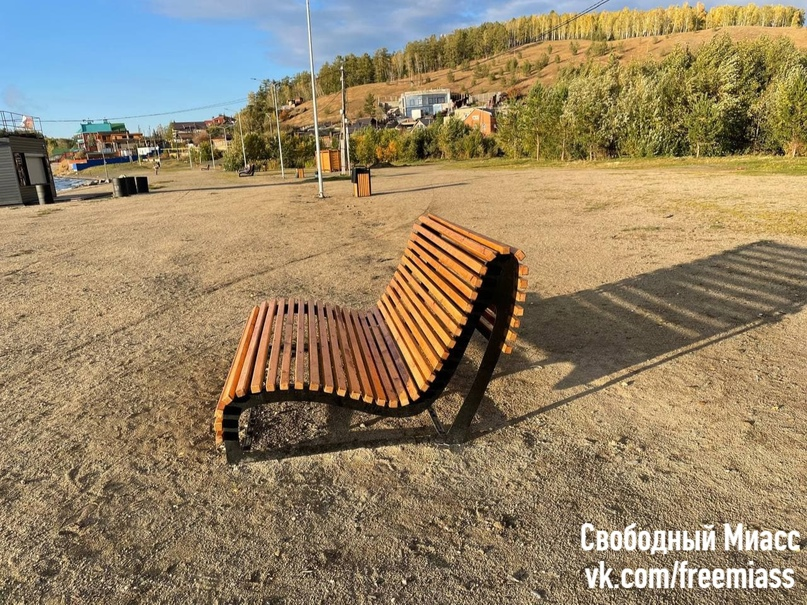 Благоустройство на городском пляже и стоянке у озера Тургояк, состояние на 18 сентября 2021