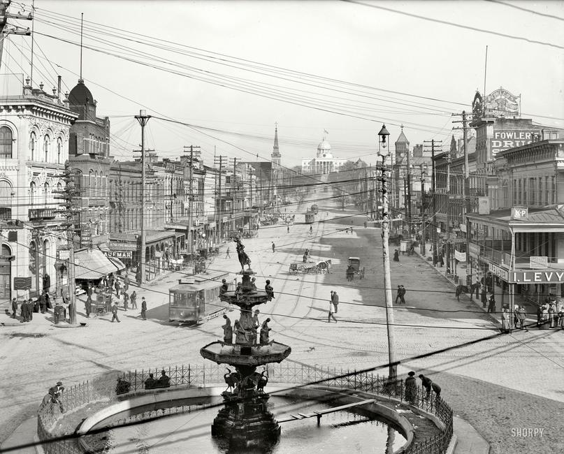 HD-фотографии городов США сделанные в 1900-1915 годах, изображение №18