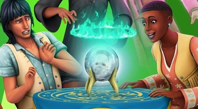 "Игровые коды для каталога ""The Sims 4: Паранормальное"""