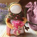 Кукла «Подорожница» обережная в мешочке (МК)