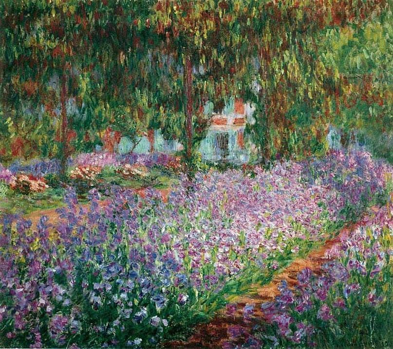 """Клод Моне """"Сад художника в Живерни"""", 1900"""