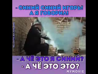 """Пёс 5 _ Смешные моменты _ Гнездилов _ """"А чё это я СИНИй?!"""