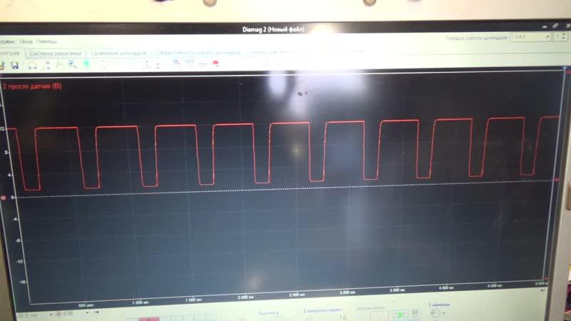 Ниссан Тиида не работает вентилятор отопителя Проверяем осциллографом