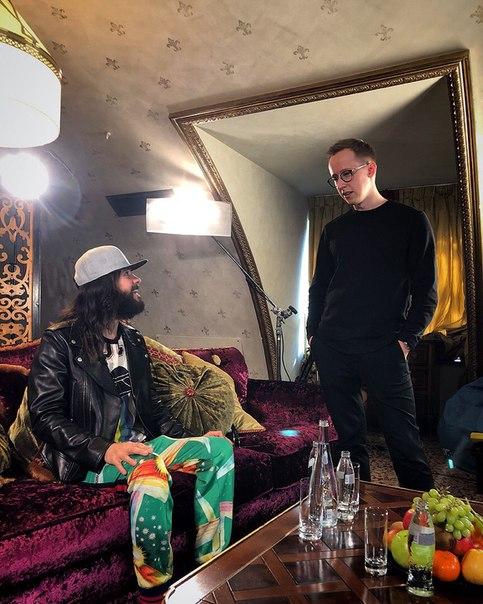 Андрей Рогозов: Met old friend Jared.