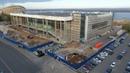 Строительство нового Дворца спорта в Самаре (20.10.2020)