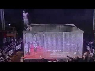 MASADA's 450 Splash from Scramble Cage 2 ROH[#MASADA/CZW/ Official Page]