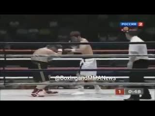 Подборка убойных нокаутов Мурата Гассиева.