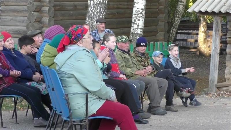 Участники агитбригады МБУК ЦКС побывали в деревне Шеменер Мучаш