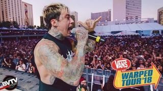"Falling In Reverse - ""Losing My Life"" LIVE! @ Warped Tour 2018"
