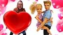 Видео про игры для девочек Кукла Барби и Баба Маня. Почему Кен не расколдовал Барби от сна!