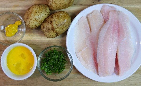 Рыбные котлеты с картофелем, изображение №2