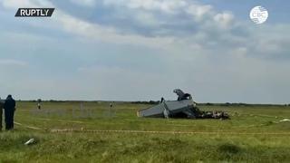 В Кузбассе разбился самолет