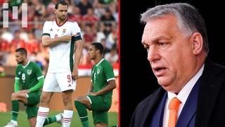 """""""È una provocazione!"""" Orban e l'inginocchiamento BLM nel calcio"""