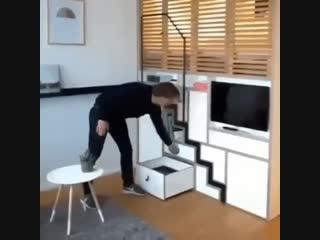 Идея для маленькой квартиры
