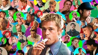 15 Minutes of Brad Pitt Eating