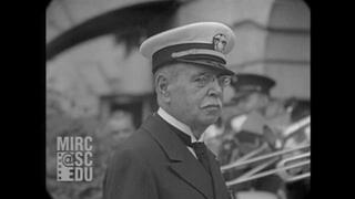 Nov 1930 - Elderly John Philip Sousa Visits The White House (real sound)
