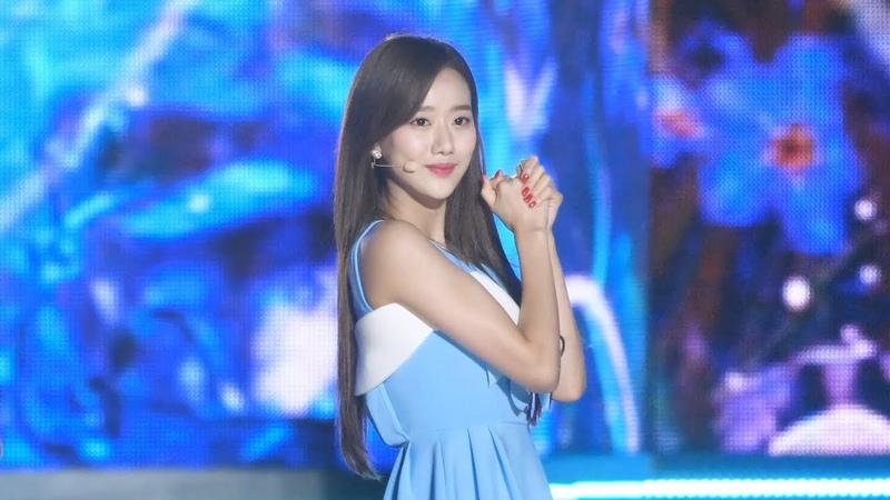 180404 에이프릴 '파랑새' 나은 직캠 APRIL Naeun fancam The Blue Bird 울산 쇼챔 by Spinel