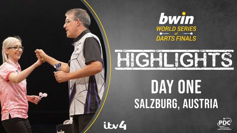 2020 Bwin World Series of Darts Finals Day One Highlights