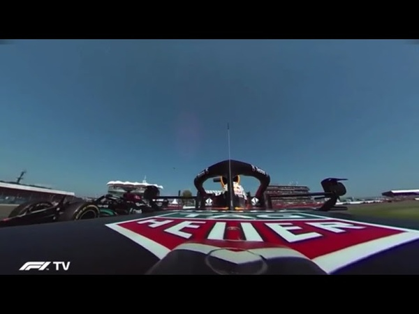 *Nova Câmera* OnBoard do Acidente do Verstappen GP da Inglaterra 2021 F1