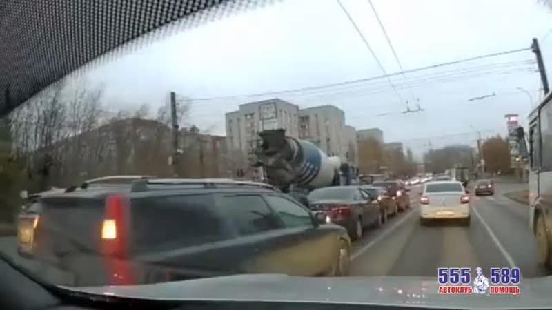 авария на Воровского столкнулись четыре машины mp4