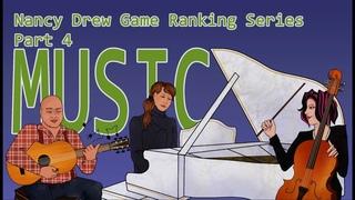 Nancy Drew Game Ranking Series -- Episode Four -- Music! (All Nancy Drew Games Ranked)