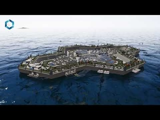The Blue Estate - Luxury Floating Private Island Real Estate