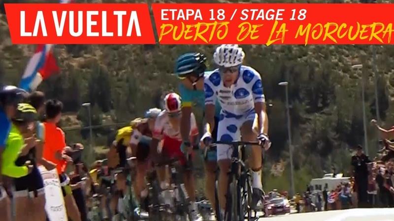 Puerto de la Morcuera - Stage 18 | La Vuelta 19