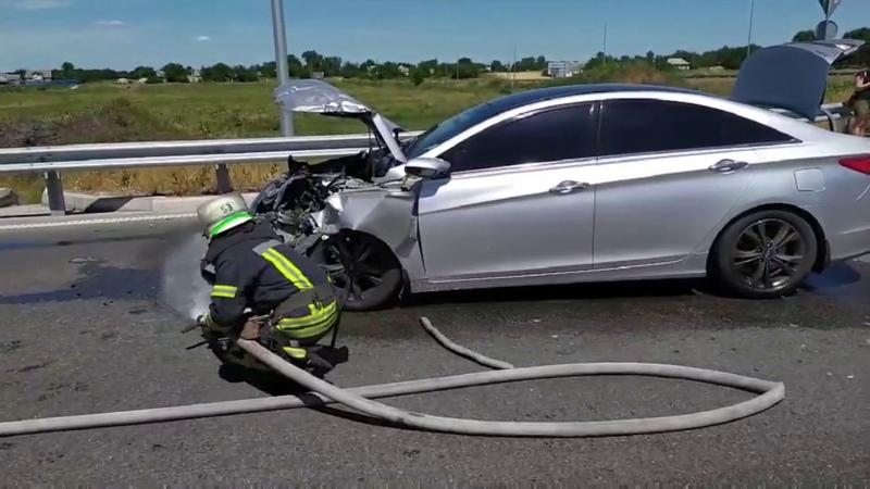 Петриківський район внаслідок дорожньо транспортної пригоди постраждало п'ятеро людей