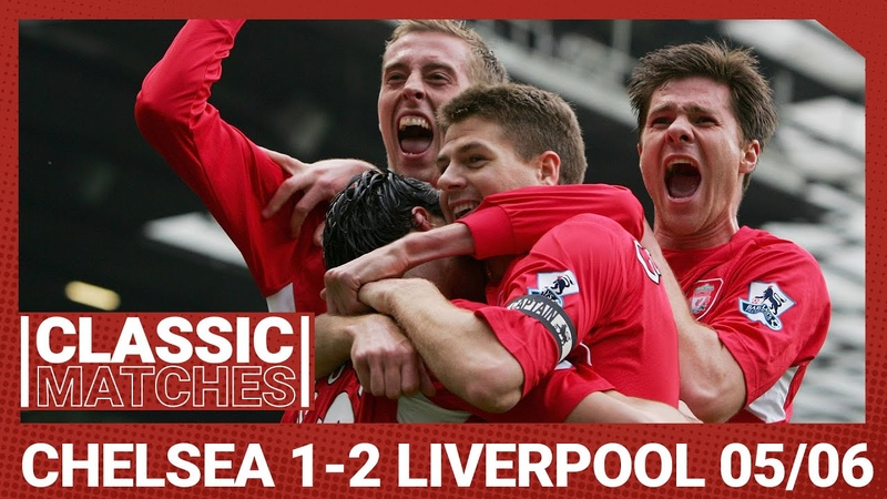 Cup Classic Chelsea 1 2 Liverpool Luis Garcia's worldie sends Reds into the final