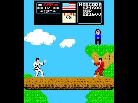 Arcade Game Karate Champ 1984 Data East